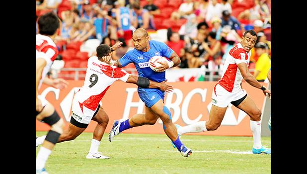 Selesele powers thru in win over Japan [Photo: Barry Markowitz]