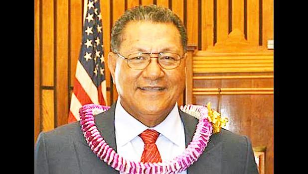 Senate President Gaoteote Tofau Palaie [SN file photo]