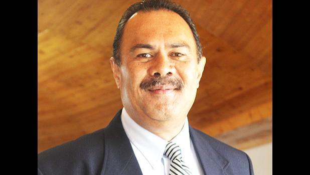 Newly confirmed director of Human and Social Services, Muavaefa'atasi John Edward Suisala.  [photo: FS]