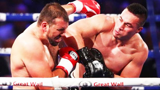 Parker struggled to finish Razvan Cojanu in a disappointing fight [Credit: Getty Images via The Telegraph]