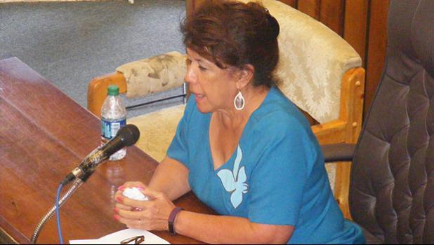 Taimalelagi Dr. Claire Tuia Poumele [SN file photo]