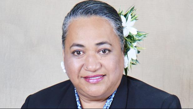 Tasi Scanlon is the new Country Head ANZ American Samoa, for the ANZ Amerika Samoa Bank.  [photo: ANZ]