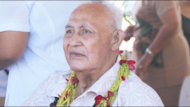 VAIALA PARAMOUNT CHIEF: Patu Ativalu [Samoa Observer]