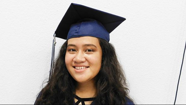 Sharon-Netosi Ah Pingwill be attending Harding University in Arkansas where she will be studying nutrition and dietetics. Sharon is the recipient of several scholarships from Harding, as well as a recipient of the ASG Scholarship for off-island 4-year colleges. [Photo: EM]
