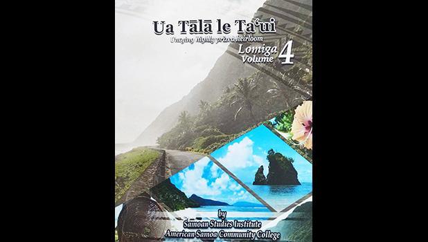 """Book cover  """"Ua Tālā le Ta'ui"""" - Vol. 4"""