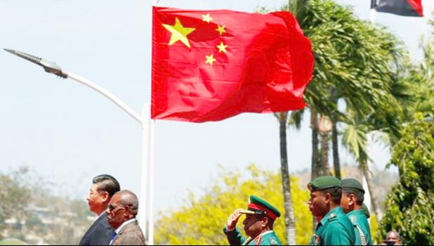China's President Xi Jinping during state visit to PNG