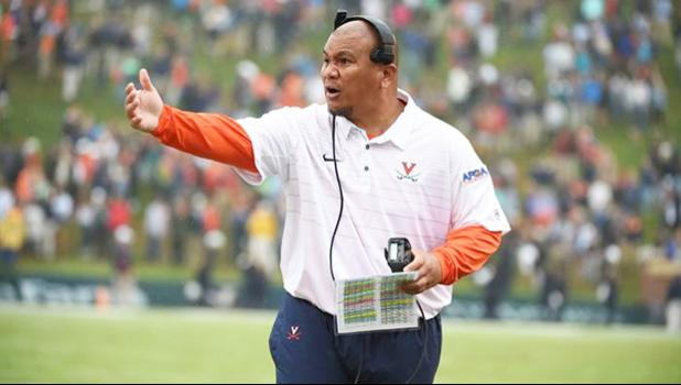 Virginia assistant coach Mark Atuaia grew up in Laie, and looked up to Robert Anae and Ken Niumatalolo – two of the finest athletes to come out of the of tiny town. (Courtesy photo/UVa)