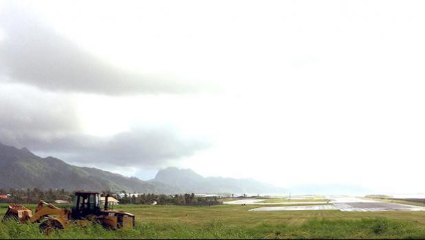 Pago Pago International Airport runway