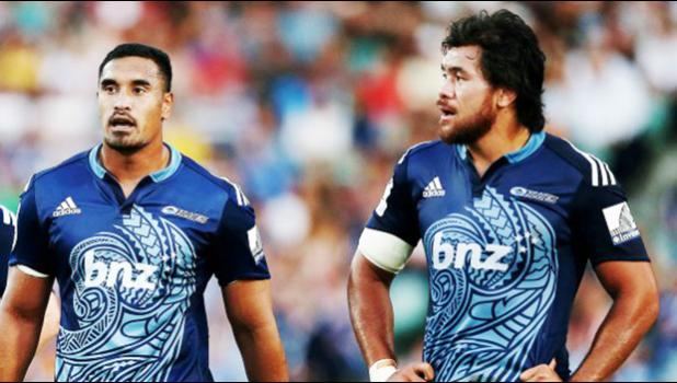 APIA BOUND: All Blacks Jerome Kaino and Steven Luatua are set to arrive in Apia on Monday night for a short promotional tour ahead of the Super rugby match at Apia Park. (Photo: Anthony Au-Yeung)