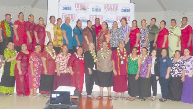 Most of the participants representing various ASG entities that attended yesterday's two-day Stakeholder Workshops for Improving Outcomes for Children and Families in American Samoa