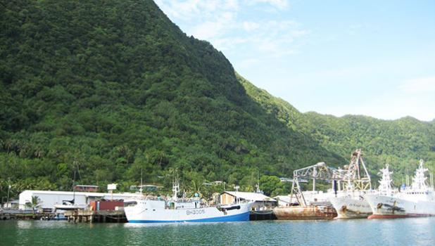 US longline fleet based in American Samoa.