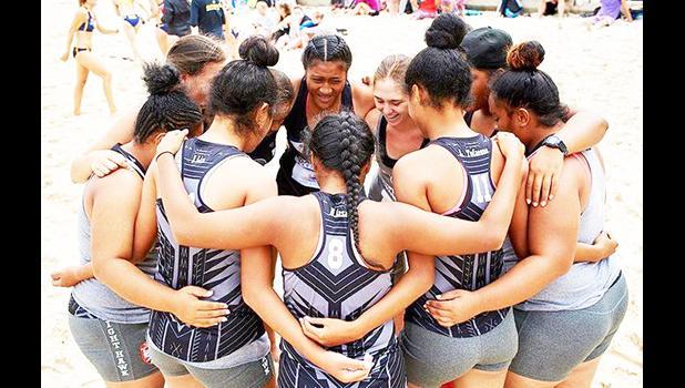 American Samoa  women's beach handball team