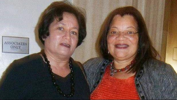 Congresswoman Amata with her friend, Dr. Alveda King, niece of Dr. Martin Luther King, Jr.