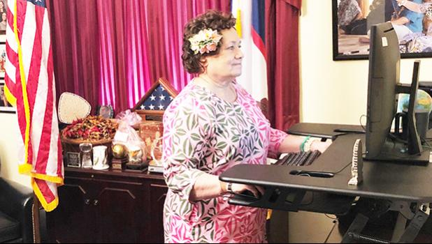 Congresswoman Uifaatali Amata