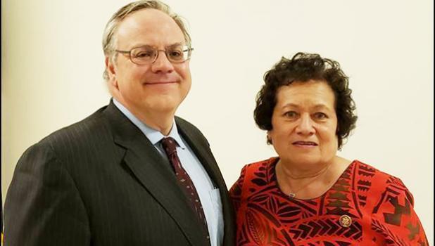 Secretary Bernhardt and Congresswoman Amata