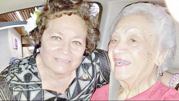 Mrs. Annesley and Aumua Amata