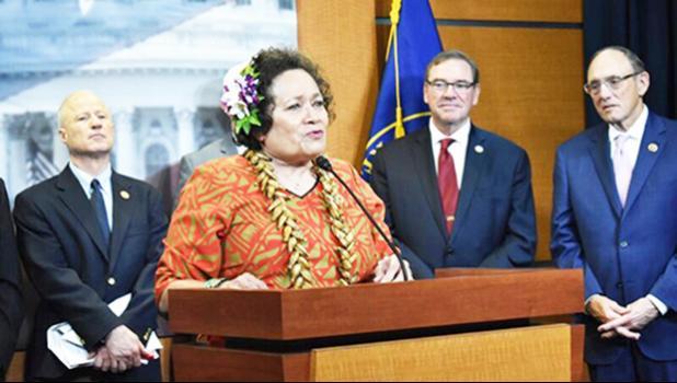 Congresswoman Aumua Amata