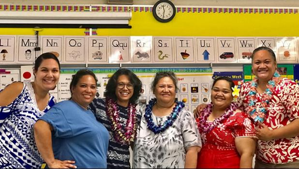 Waipahu Elementary Teachers and Le Fetuao SLC