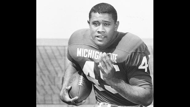 Bob Apisa was a two-time All-American fullback for the Spartans.(Photo courtesy of Michigan State athletics)