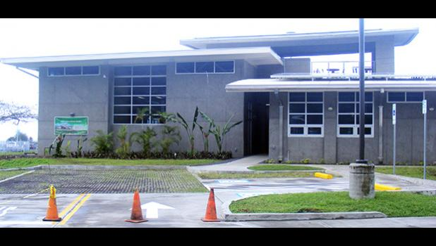 The $4.6 million American Samoa Power Authority (ASPA) Operations Center building in Tafuna