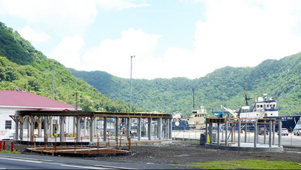Building site of the American Samoa Visitors Bureau