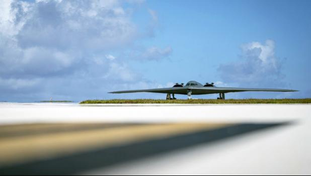 B-2 Spirit, assigned to the 509th Bomb Wing, Whiteman Air Force Base