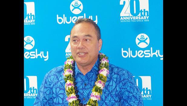 Bluesky CEO, Toleafoa Douglas Creeveys
