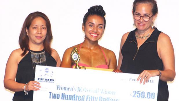 Women's Junior Overall Winner Monique Hollister. [photo: TG]