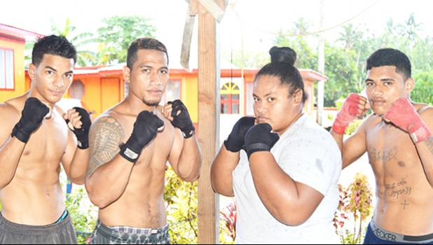 A look at the team that will be representing American Samoa at the 2-day Tri-Nation Championship in independent Samoa later this week. The event is part of the preparations for the Pacific Mini Games set to be held in Vanuatu next month. [photo: AF]
