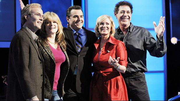 """The Brady Bunch"" original cast members, from left, Mike Lookinland, Susan Olsen, Christopher Knight, Eve Plumb and Barry Williams"