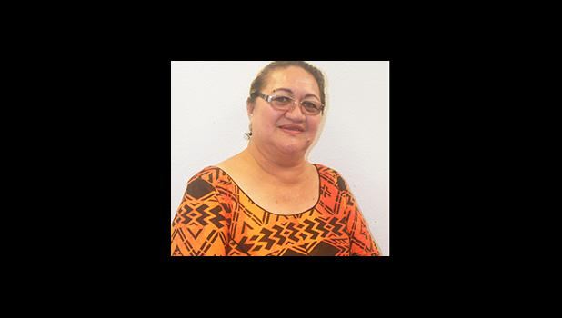 ASG Office of Budget and Planning director Catherine D. Saelua