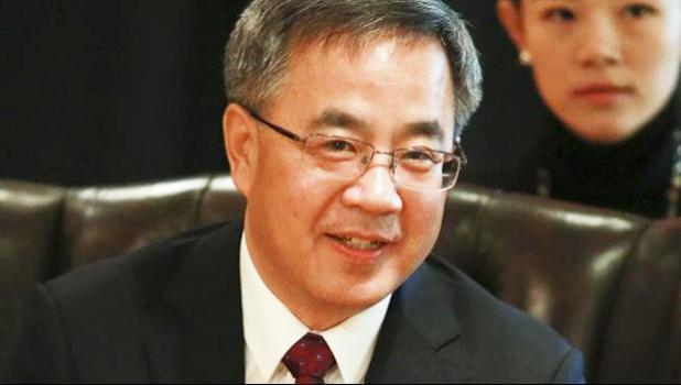 Chinese Vice Premier Hu Chunhua.