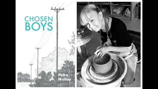 Chose Boys book cover and author, Petra Mollo