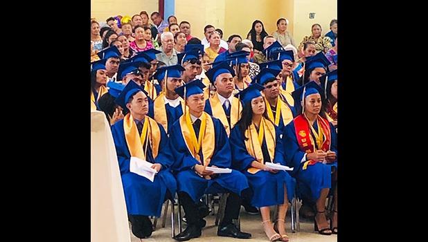 Faasao Marist High School Class of 2019