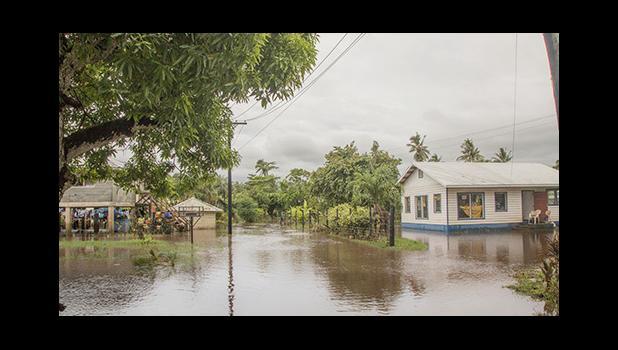 Flooding in Samoa from Cyclone Gita [Samoa Observer]