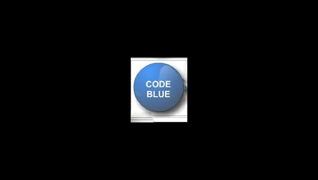 Code Blue graphic