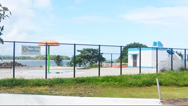 A look at the Pala Lagoon Swimming Center while still being constructed. It is set to open today, after 15 years in the making. [SN archives]