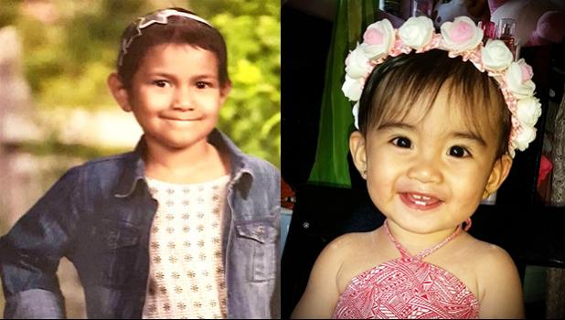 Pictured are child cancer survivor Eliana Feliciano and Zsofe Renette Del Mundo, who was recently diagnosed with cancer. According to local stats, Pediatric Cancer is on the rise in American Samoa.   [Courtesy photos]