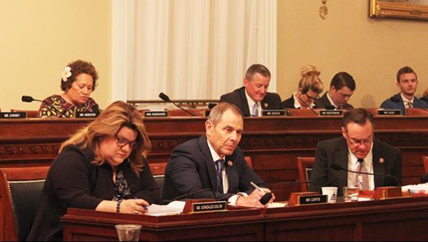 Rep. Amata questions DOI Secretary Bernhardt