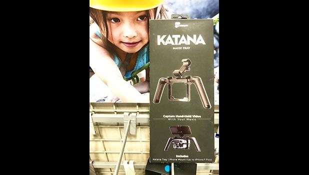 The Katana from Polar Pro pictured with a young girl
