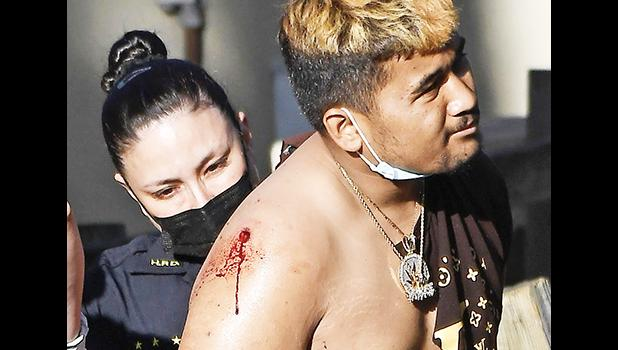 Armed robbery suspect, Mark Sykap