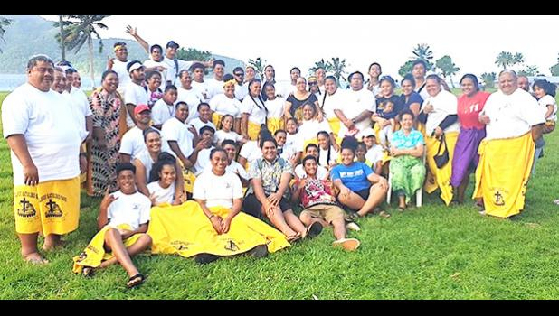East Side Zone cricket team members of the Diocese of Samoa Pago Pago