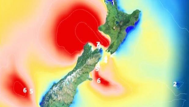 Cyclone Gita is set to lash New Zealand on Tuesday [image: Express UK]