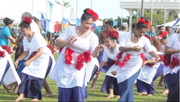 American Samoa cheered during opening ceremony