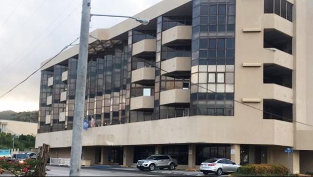 The U.S. District Court building, CNMI