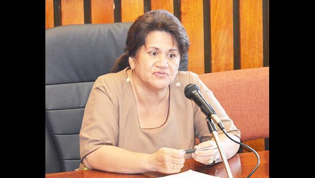 DOE director, Dr. Ruth Matagi