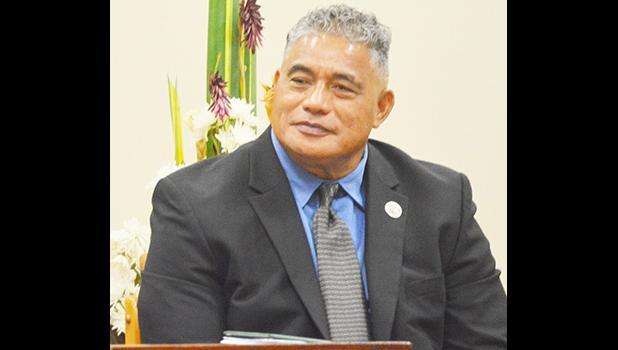 Health director Motusa Tuileama Nua