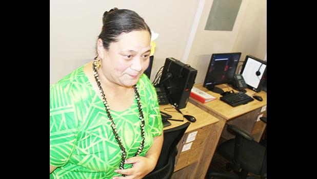 Dr. Siitia Soliai-Lemusu, administrator of the Behavioral Health Services of the Health Department