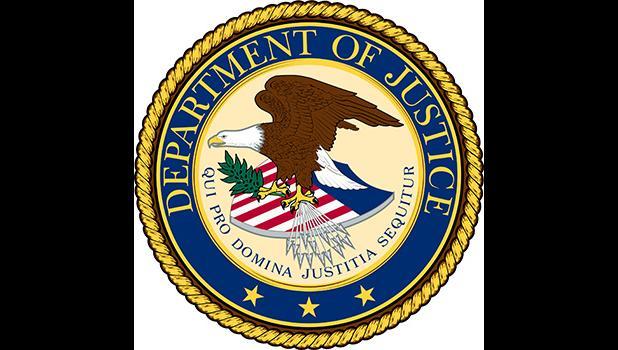 USDOJ logo