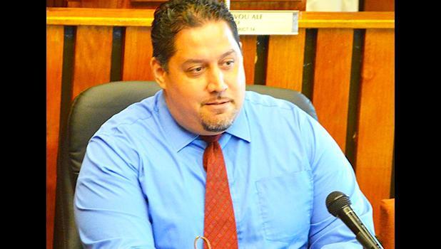 Former Public Defender, Douglas Fiaui  [SN file photo]]